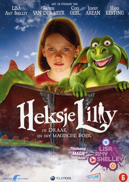 Heksje Lilly : de draak en het magische boek