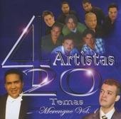 4 artistas : 20 temas - merengue. vol.1