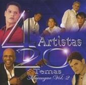 4 artistas : 20 temas - merengue. vol.2