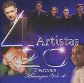 4 artistas : 20 temas - merengue. vol.4