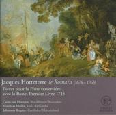 Pieces pour la flûte traversiére avec la basse premier livre 1715