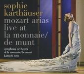 Mozart arias live at la Monnaie