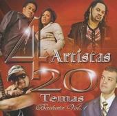 4 artistas : 20 temas - bachata. vol.1