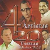 4 artistas : 20 temas - bachata. vol.2