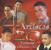 4 artistas : 20 temas - bachata. vol.4