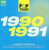 The pop years 1990-1991 : 40 classic pophits from the 90s