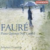 Piano quintets nos 1 and 2
