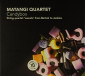 Candybox : string quartet 'sweets' from Bartok to Jenkins