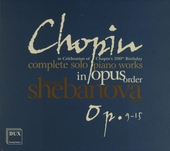 Complete solo piano works in opus order : Op.9-15