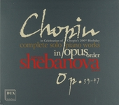 Complete solo piano works in opus order : Op.39-47