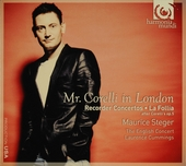 Mr. Corelli in London : recorder concertos [and] La Follia after Corelli's op. 5