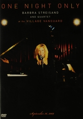 One night only : At the Village Vanguard