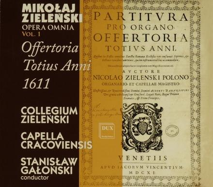 Offertoria Totius anni 1611. Vol. 1
