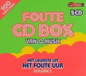 Foute cd box van Q music : het leukste uit Het foute uur. Vol. 2