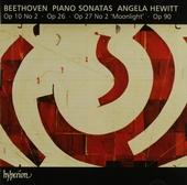 Piano sonatas op.10 no 2, op 26, op 27 nos 2 'Moonlight', op 90