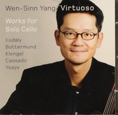 Virtuoso : works for cello