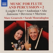 Music for flute and percussion 2. vol.2