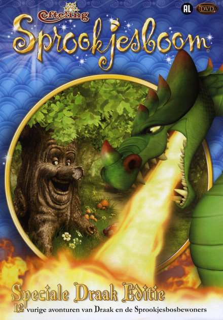 Speciale draak editie : 12 vurige avonturen van draak en de spookjesbosbewoners