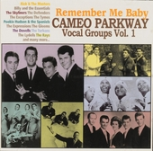Remember me baby : Cameo Parkway vocal groups. vol.1