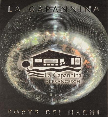 La Capannina : Forte dei Marmi