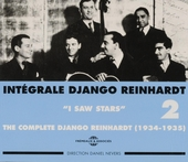Intégrale Django Reinhardt. vol.2 : I saw stars 1934-1935