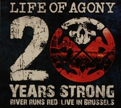 20 years strong : river runs red : live in Brussels