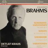Variationen über ein Thema von Schumann fis-moll, op.9