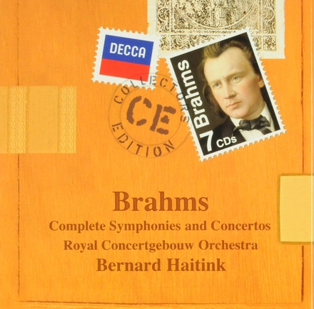 Complete symphonies and concertos