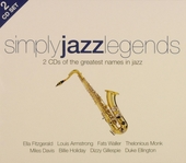 Simply jazz legends : 2 CD's of the greatest names in jazz