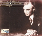Master of Chopin : Friedman Tiegerman Eisenberger