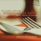 Musique de table : the complete Tafelmusik