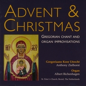 Advent & Christmas : Gregorian chant and organ improvisations