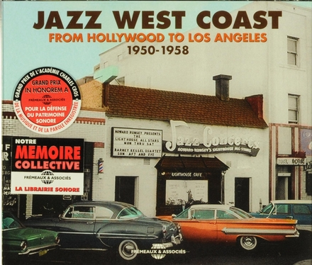 Jazz West Coast : from Hollywood to Los Angeles 1950-1958