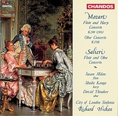 Mozart : flute & harp concerto