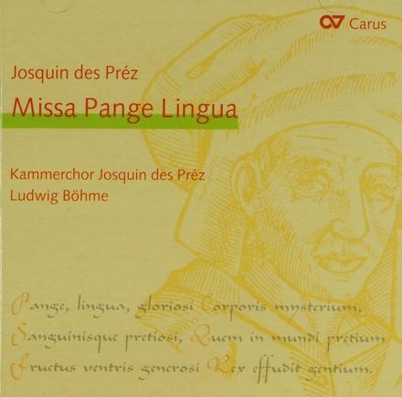Misse Pange lingua