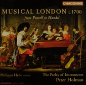 Musical London c.1700 : From Purcell to Handel