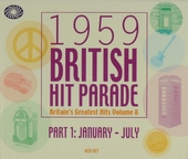 1959 British hit parade. Part 1, January - July