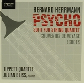 Psycho : suite for string quartet