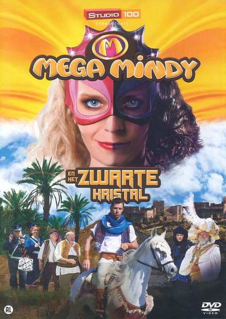 Mega Mindy en het zwarte kristal