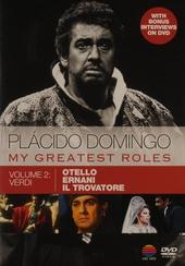 Plácido Domingo : My greatest roles. vol.2