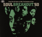 Soul breakout 1960 : from the US charts of 1960, the evolution of soul