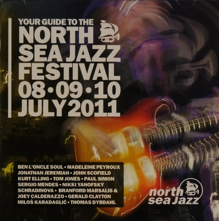 Your guide to the North Sea Jazz Festival 08, 09, 10 July 2011