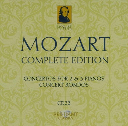 Mozart complete edition. CD 22, Concertos for 2 and 3 pianos [and] Concert rondos