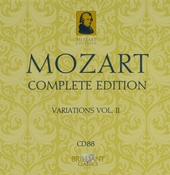 Mozart complete edition. CD 88, Variations, Vol. II