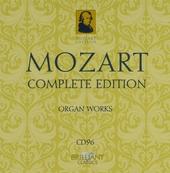 Mozart complete edition. CD 96, Organ music