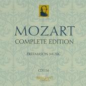 Mozart complete edition. CD 116, Masonic music