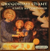 Gregorian chant : Early recordings