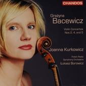 Violin concertos nos 2, 4 & 5