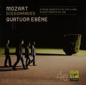 String quartets KV 138, 421, 465