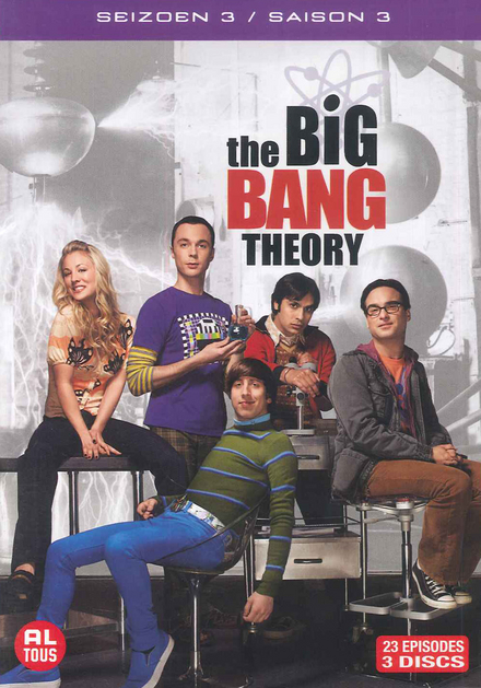 The big bang theory. Seizoen 3